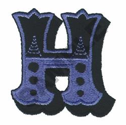 CIRCUS H embroidery design