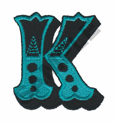CIRCUS K embroidery design