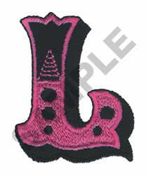 CIRCUS L embroidery design
