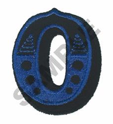 CIRCUS O embroidery design