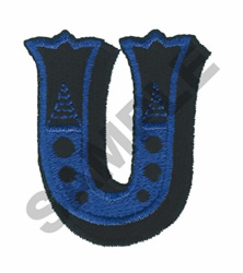 CIRCUS U embroidery design