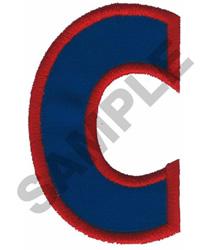 C APPLIQUE embroidery design