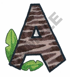A embroidery design