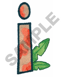 I embroidery design