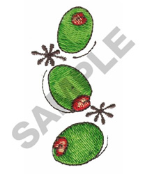 OLIVES embroidery design