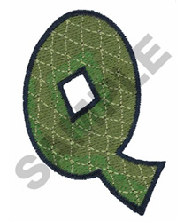 Q embroidery design
