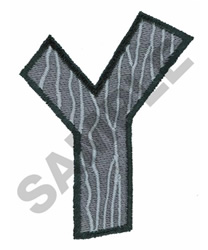 Y embroidery design