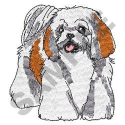 SHIH TZU DOG embroidery design