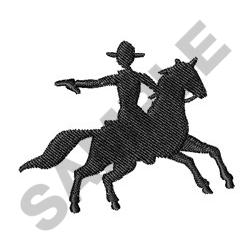 COWBOY SHOOTING embroidery design