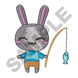 Little Boy Bunny embroidery design