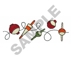 BOBBERS embroidery design