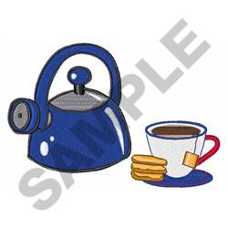 TEA AND BISCUITS embroidery design