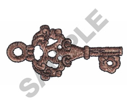 KEY embroidery design