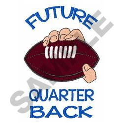 FUTURE QUARTERBACK embroidery design