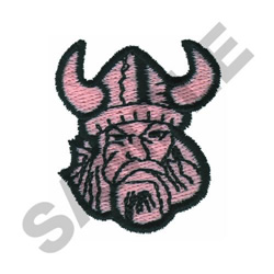 VIKING embroidery design
