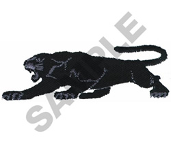 BLACK PANTHER BORDER embroidery design