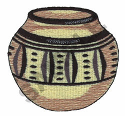 POTTERY embroidery design