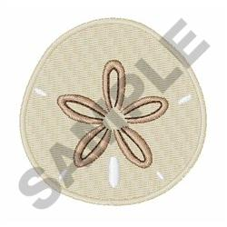 SAND DOLLAR embroidery design