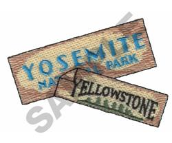 YELLOWSTONE embroidery design