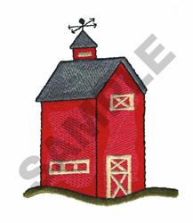 BARN embroidery design
