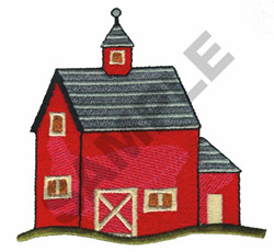 BARN embroidery design