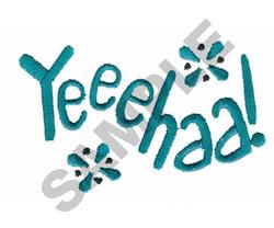 YEEE HAA embroidery design