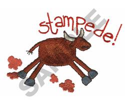 STAMPEDE embroidery design