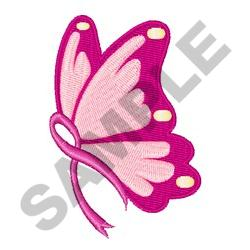 Fight Cancer Butterfly embroidery design