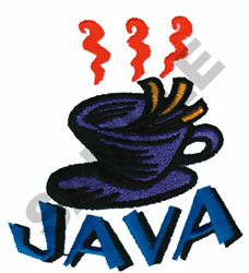 JAVA embroidery design