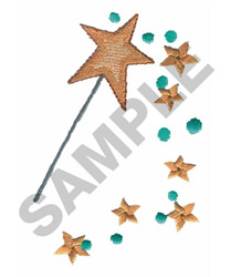 WAND embroidery design