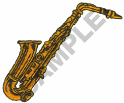 SAXOPHONE embroidery design