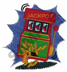 SLOT MACHINE embroidery design