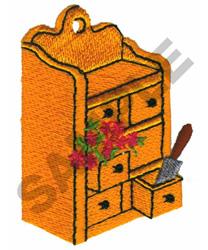 GARDENING HUTCH embroidery design