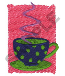 COFFEE LOGO embroidery design