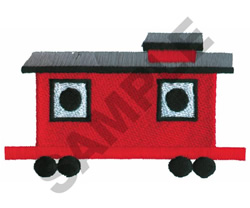 CABOOSE BIRDHOUSE embroidery design