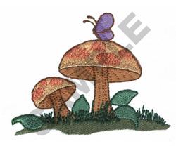 MUSHROOMS embroidery design
