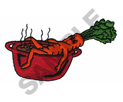 CARROT embroidery design