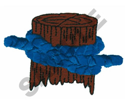 CLOVE HITCH KNOT embroidery design