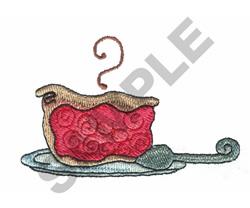 SLICE OF PIE embroidery design