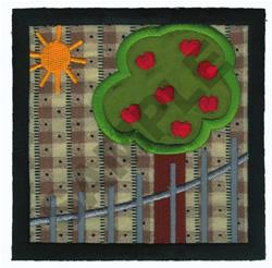 APPLIQUE QUILT SQUARE embroidery design