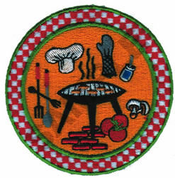 COOKOUT PLATE embroidery design