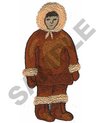 ESKIMO embroidery design