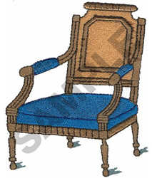 VICTORIAN CHAIR embroidery design