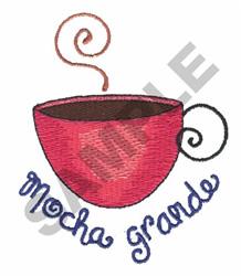 MOCHA GRANDE embroidery design