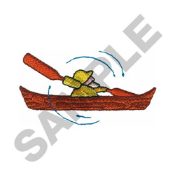 CANOER WINDMILL embroidery design
