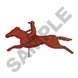 RACEHORSE WINDMILL embroidery design