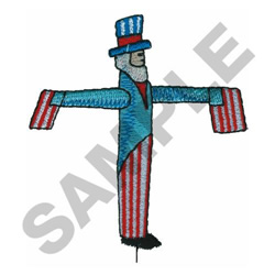 PATRIOTIC WINDMILL embroidery design