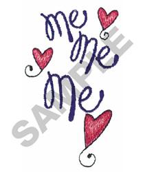 ME ME ME embroidery design