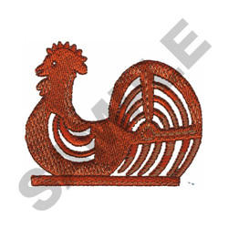 ROOSTER WINDMILL embroidery design