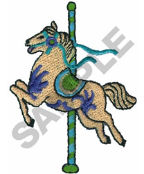 CAROUSEL HORSE embroidery design